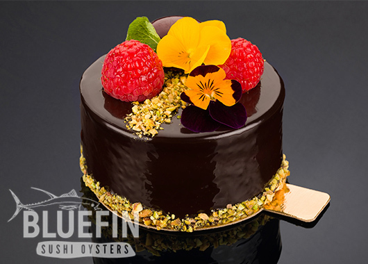 RASPBERRY SOUFFLÉ - Exclusive from BLUEFIN. Order your delivery!
