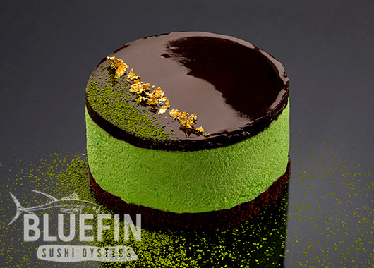 GREEN TEA SOUFFLÉ - Exclusive from BLUEFIN. Order your delivery!